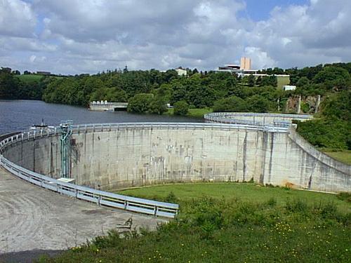 Barrage de la Ville Hatte à Pléven