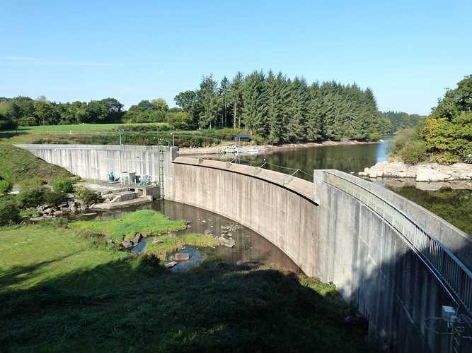Barrage de Kerne Uhel à Trémargat blavet-0128